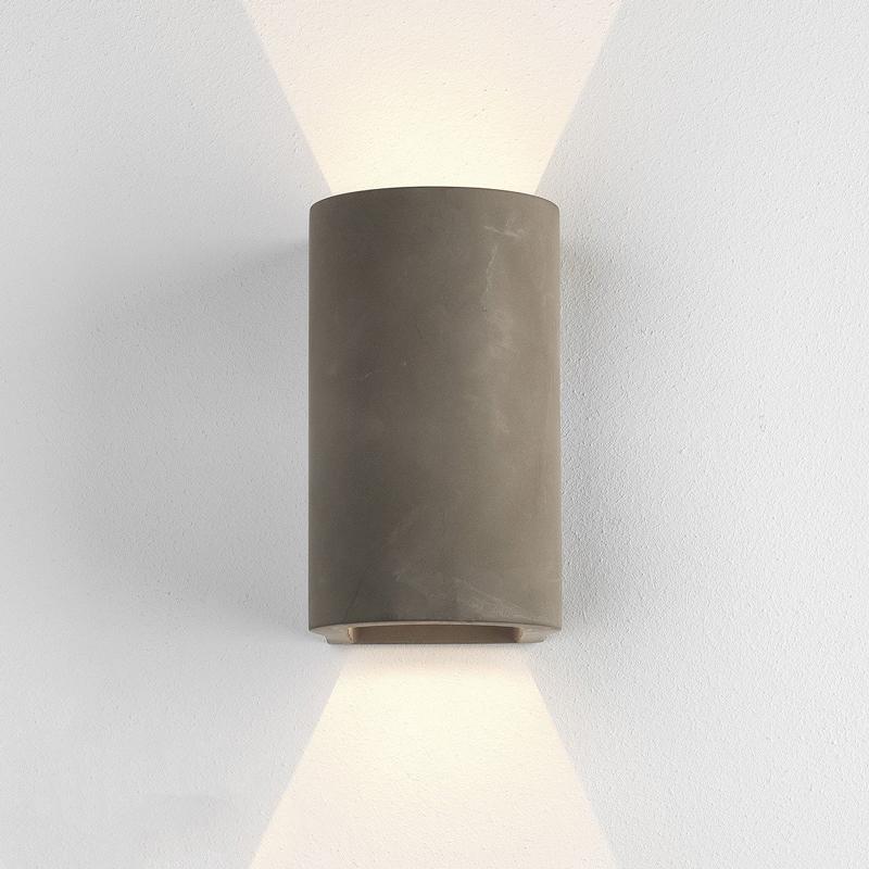Astro Dunbar 160 Concrete Wall Light Concrete B
