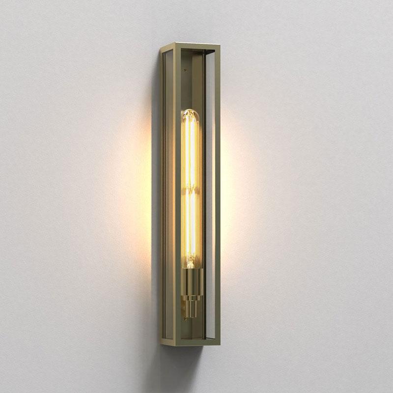 Astro Harvard 500 Wall Light Brass