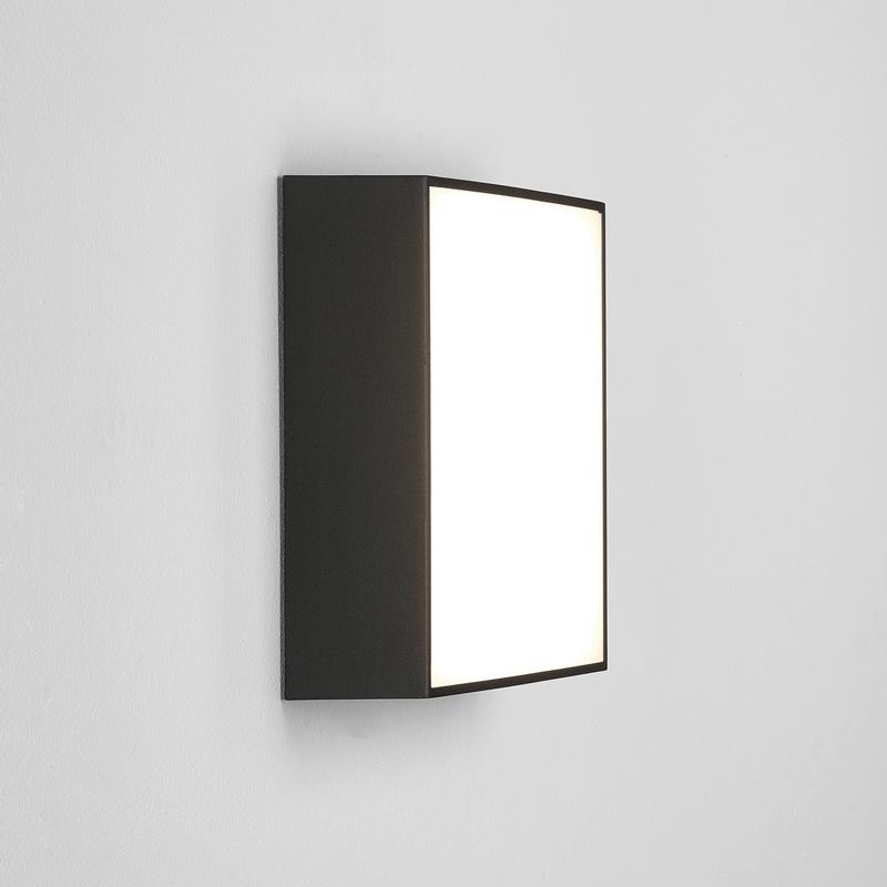 Astro Kea 240 Square Wall Light Black E
