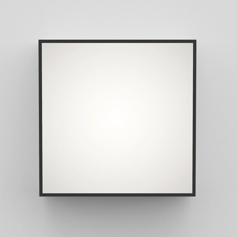Astro Kea 240 Square Wall Light Black