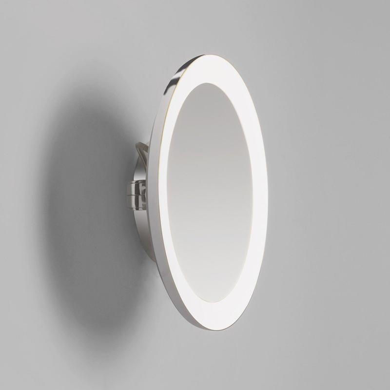 Astro Lighting Mascali Round Led Illuminated Mirror B