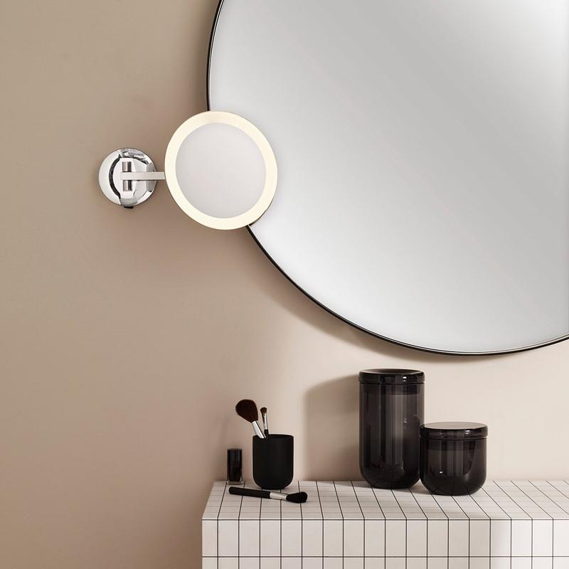 Astro Lighting Mascali Round Led Illuminated Mirror C