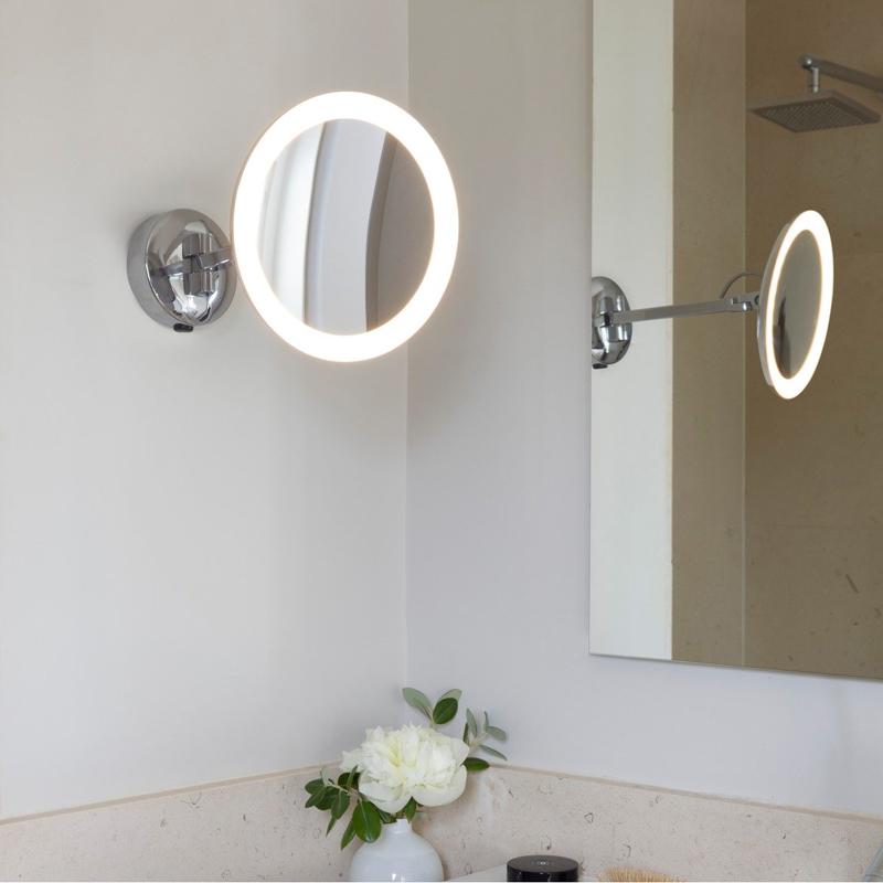 Astro Lighting Mascali Round Led Illuminated Mirror D