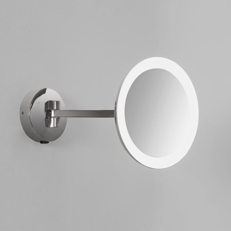 Astro Lighting Mascali Round Led Illuminated Mirror