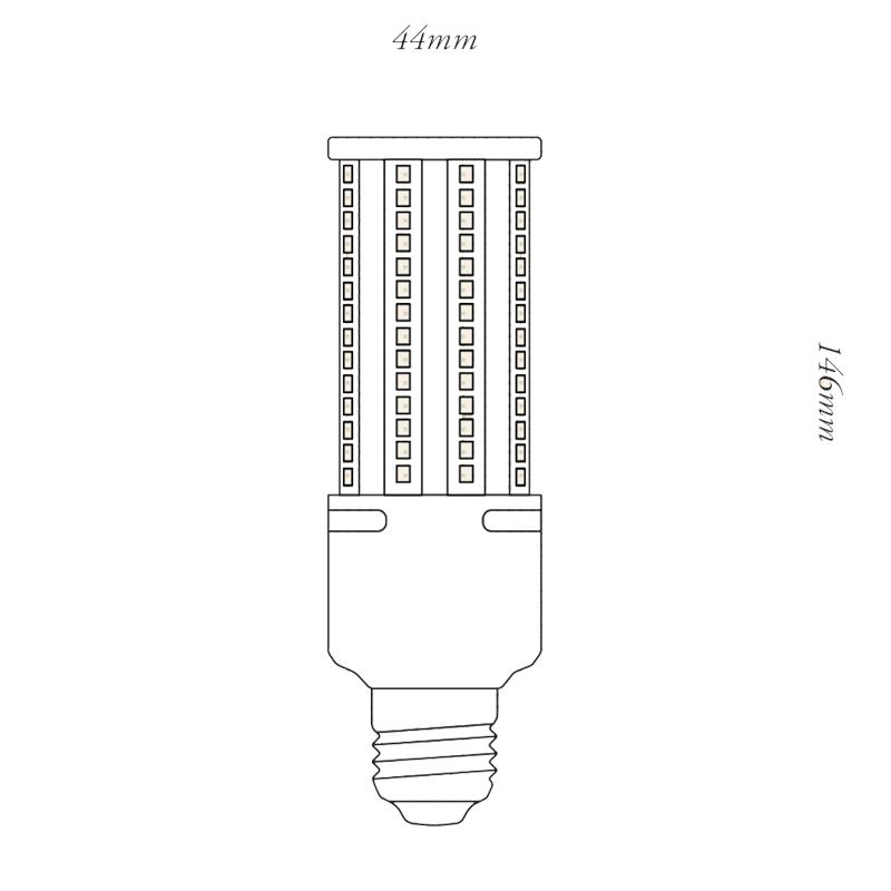 Tala Light Engine Ii Line Drawing