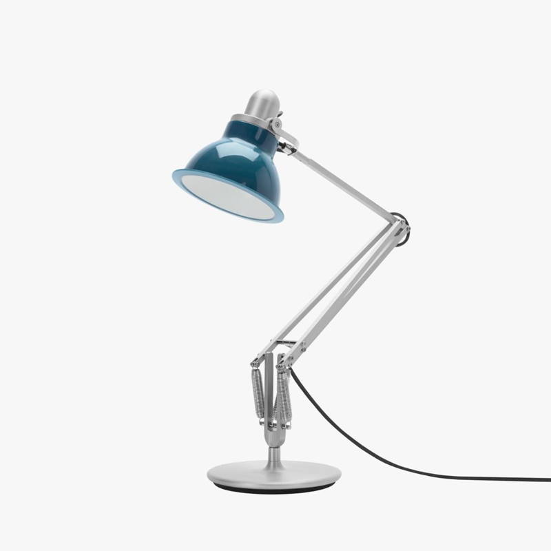 Anglepoise Type 1228 Table Lamp Ocean Blue B Off