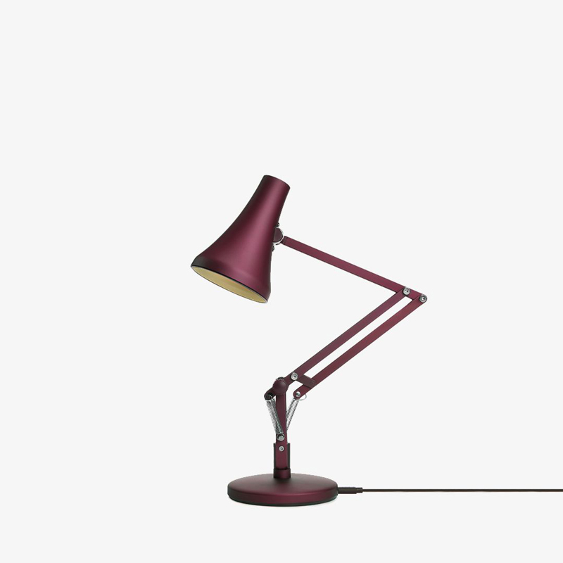 Anglepoise 90 Mini Mini Table Lamp Berry Red