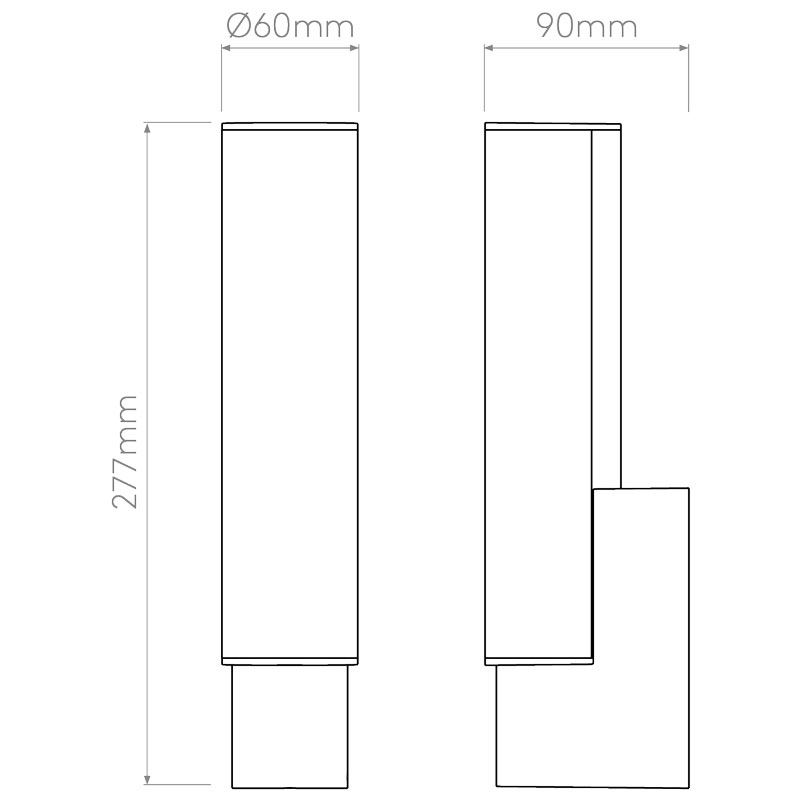 Astro Kyoto Led Wall Light Line Drawing