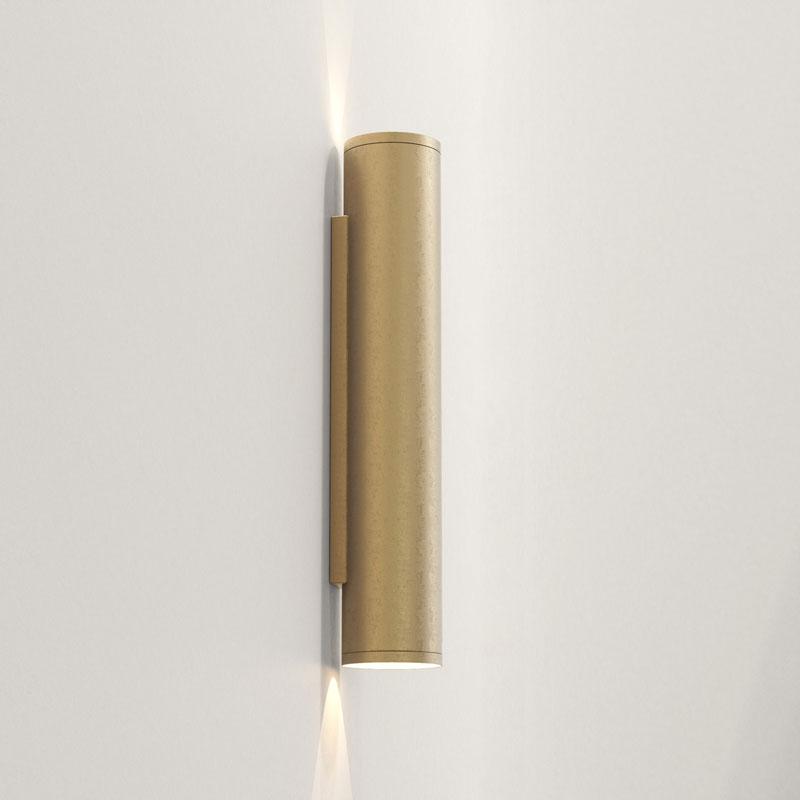 Astro Ava 400 Coastal Wall Light Coastal Brass C