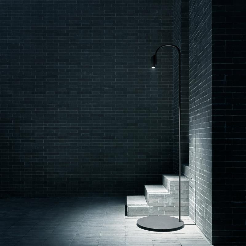 Flos Caule F5 Floor Lamp Black B
