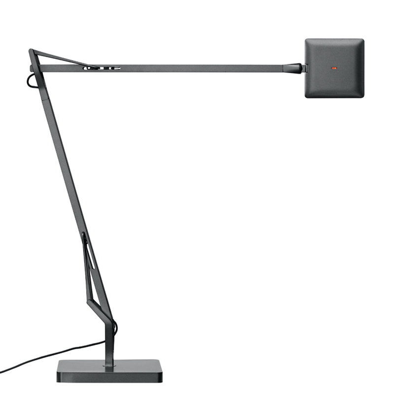 Flos Kelvin Edge Table Lamp Matt Titanium
