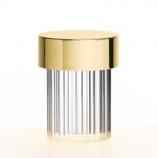 Flos Last Order Table Lamp Brass Fluted On