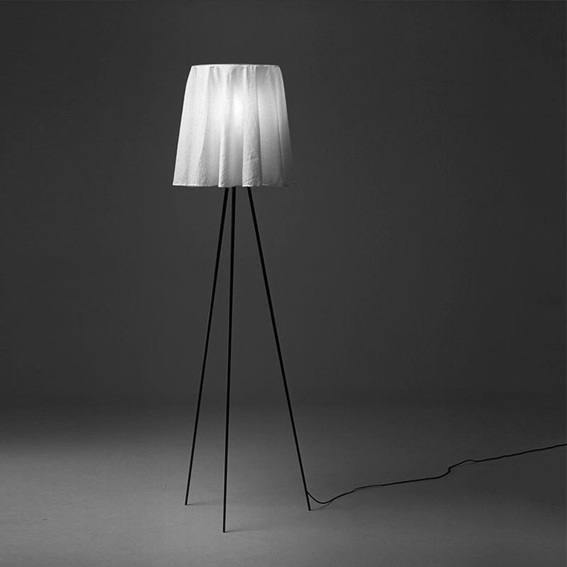 Flos Rosy Angelis Floor Lamp Grey On B