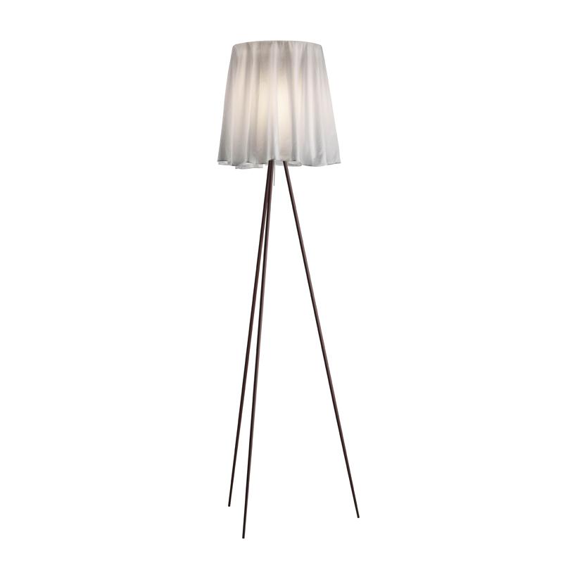 Flos Rosy Angelis Floor Lamp Grey On