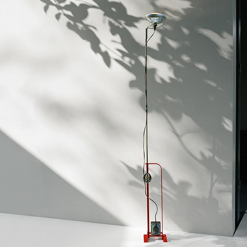 Flos Toio Led Floor Lamp Red C