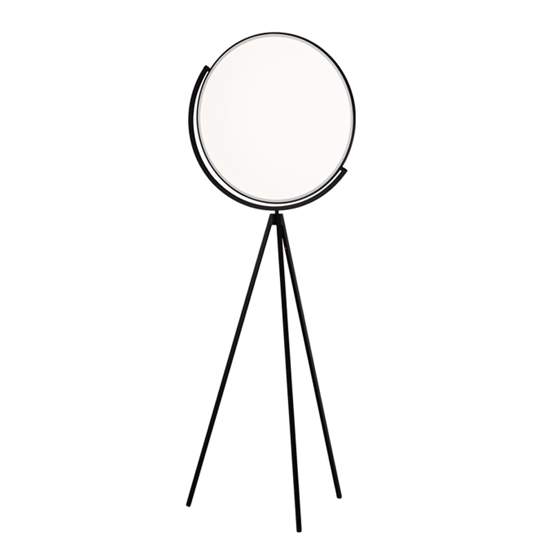 Flos Superloon Floor Lamp Black B
