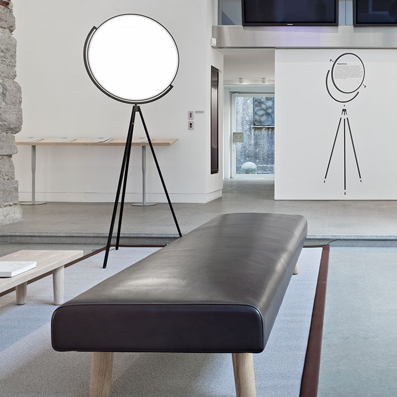Flos Superloon Floor Lamp Black C
