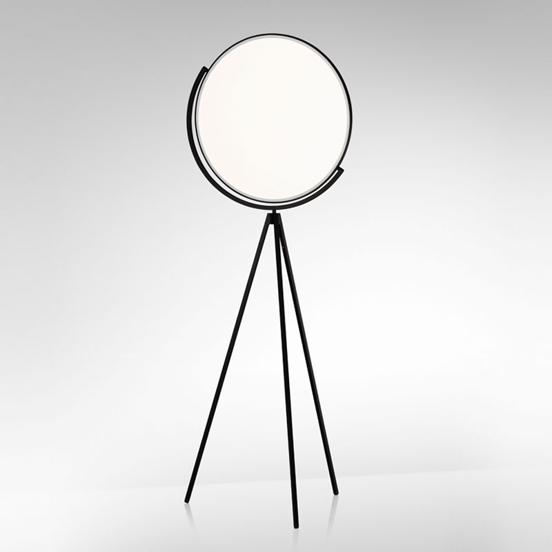 Flos Superloon Floor Lamp Black