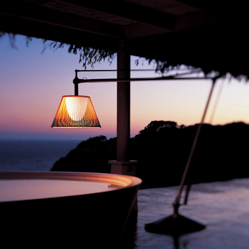 Flos Superarchimoon Outdoor Floor Lamp Panama D
