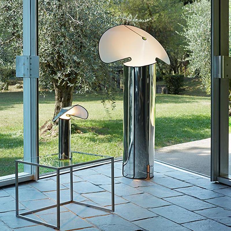 Flos Chiara Floor Lamp Stainless Steel B