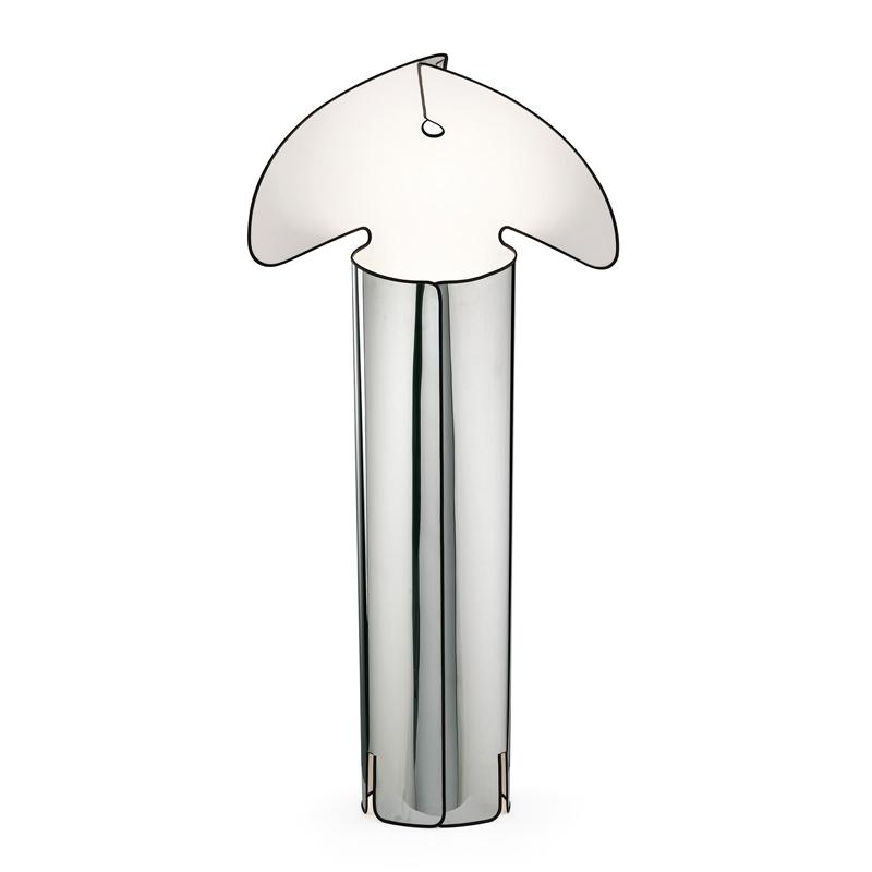 Flos Chiara Floor Lamp Stainless Steel