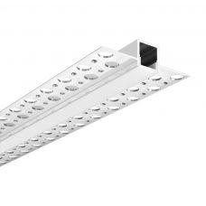 100% Light Uk Deep Plaster In Led Profile Aluminium