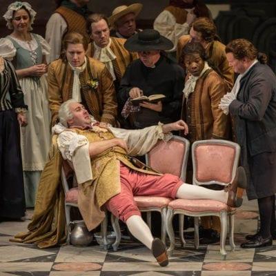 Baron Ochs 'Der Rosenkavalier' Chicago 2016