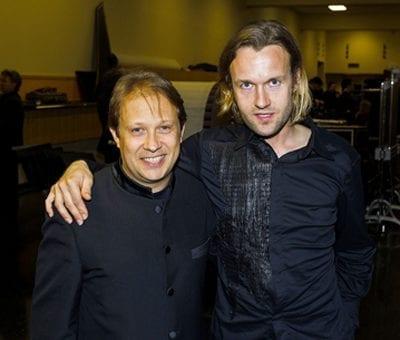 Ludovic Morlot and Gabriel Prokofiev Credit Ben Van Houten