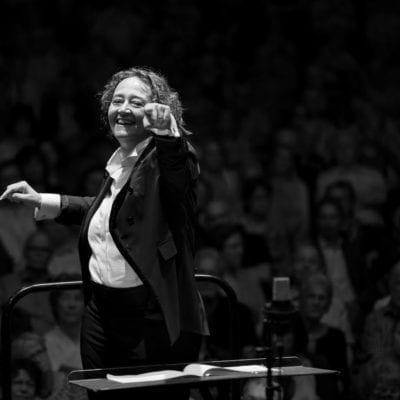 Nathalie Stutzmann Conducting Biel