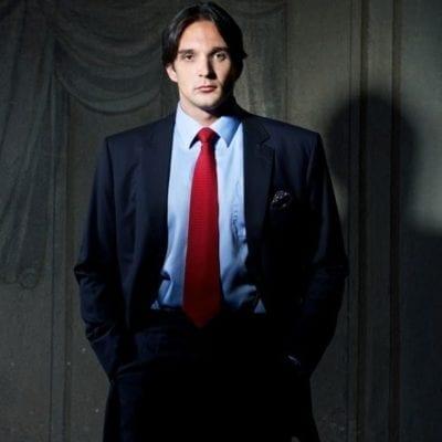 Adam Platchetka standing
