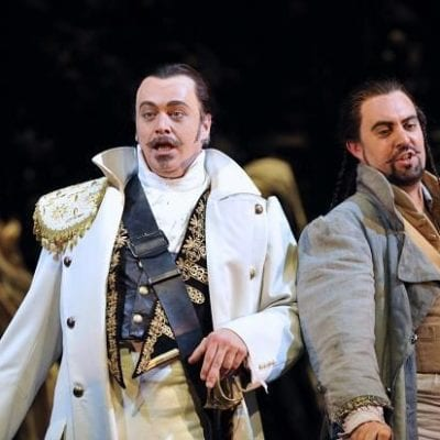 David Soar as Leporello in Don Giovanni at Welsh National Opera