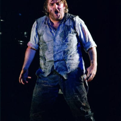 Simon O'Neill as Siegmund in Die Walkure at Covent Garden