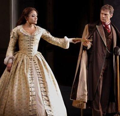 La Traviata at Covent Garden with Simon Keenlyside