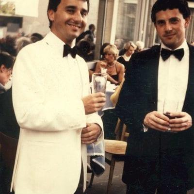 Robert & Jonathan Friend - Bayreuth 2 August 1984