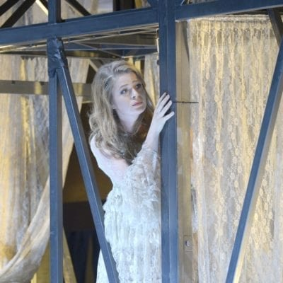 Siobhan Stagg as Gilda - Rigoletto - Deutsche Oper Berlin - October 2016. Photo credit Bettina Stöss