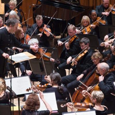 BBC Symphony Orchestra & Sakari Oramo (credit Sim-Canetty-Clarke)
