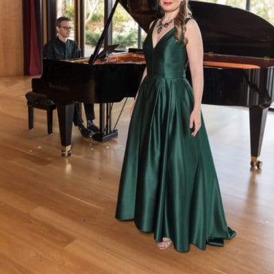 Siobhan Stagg in recital at Ukaria 2020 - Andrew Beveridge