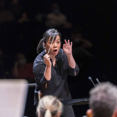 FRANCE - CLASSICAL MUSIC - THE MAESTRA - INTERNATIONAL COMPETITION OF WOMEN CONDUCTORS - PARIS PHILHARMONIE
