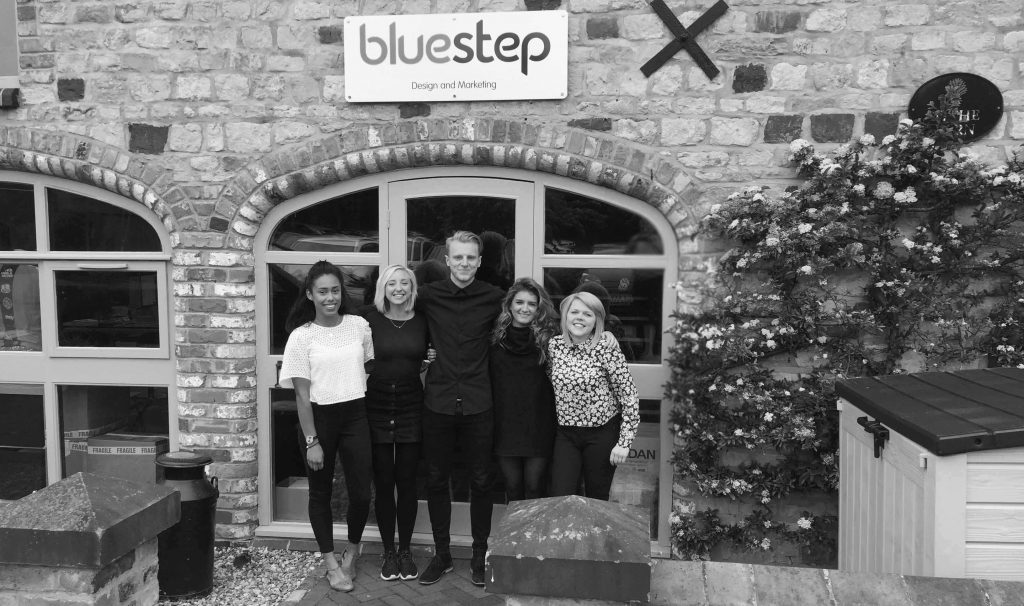 New starters here at Bluestep design and marketing agency