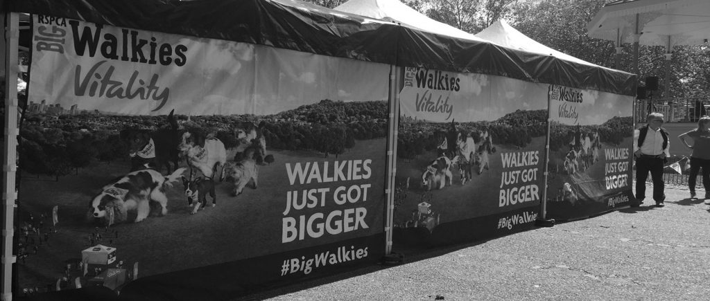 RSPCA Big Walkies Campaign