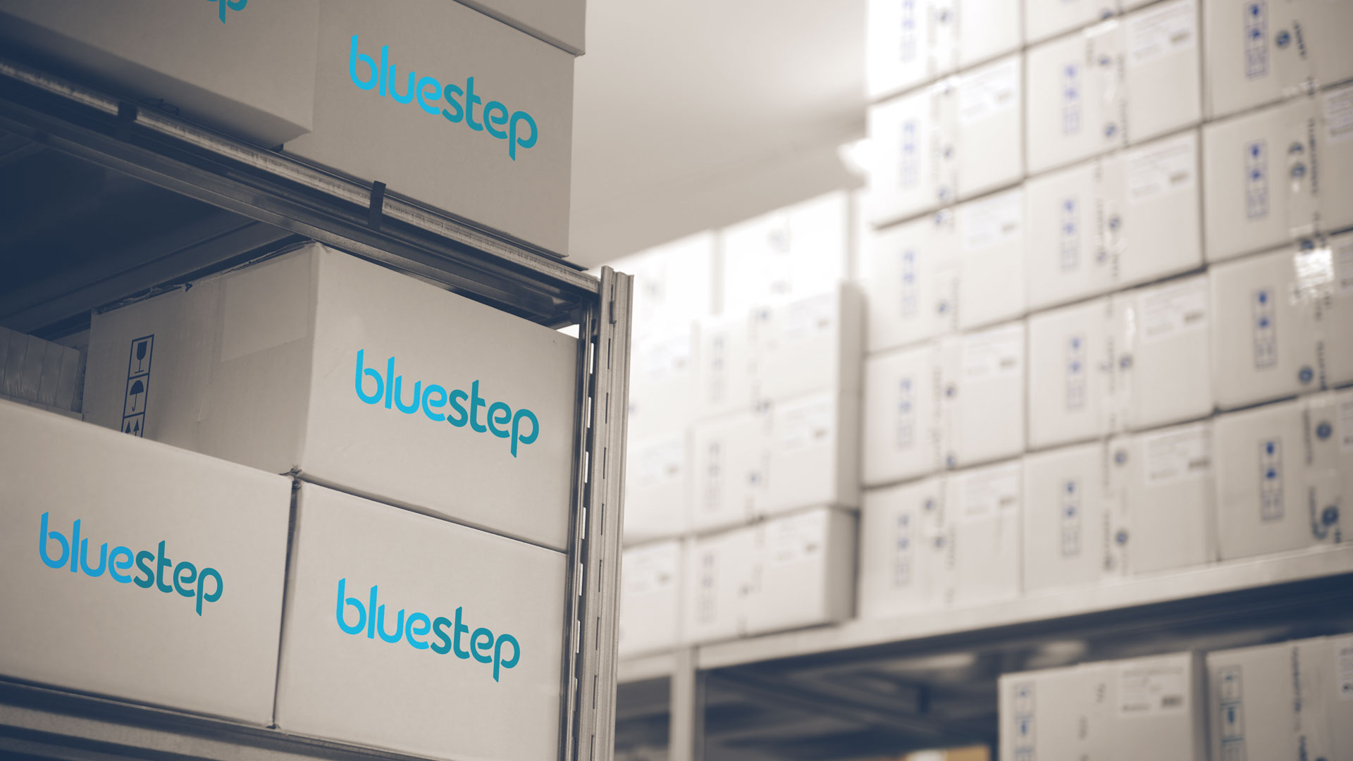 An image showing the Bluestep Warehouse based in Blisworth, Northampton