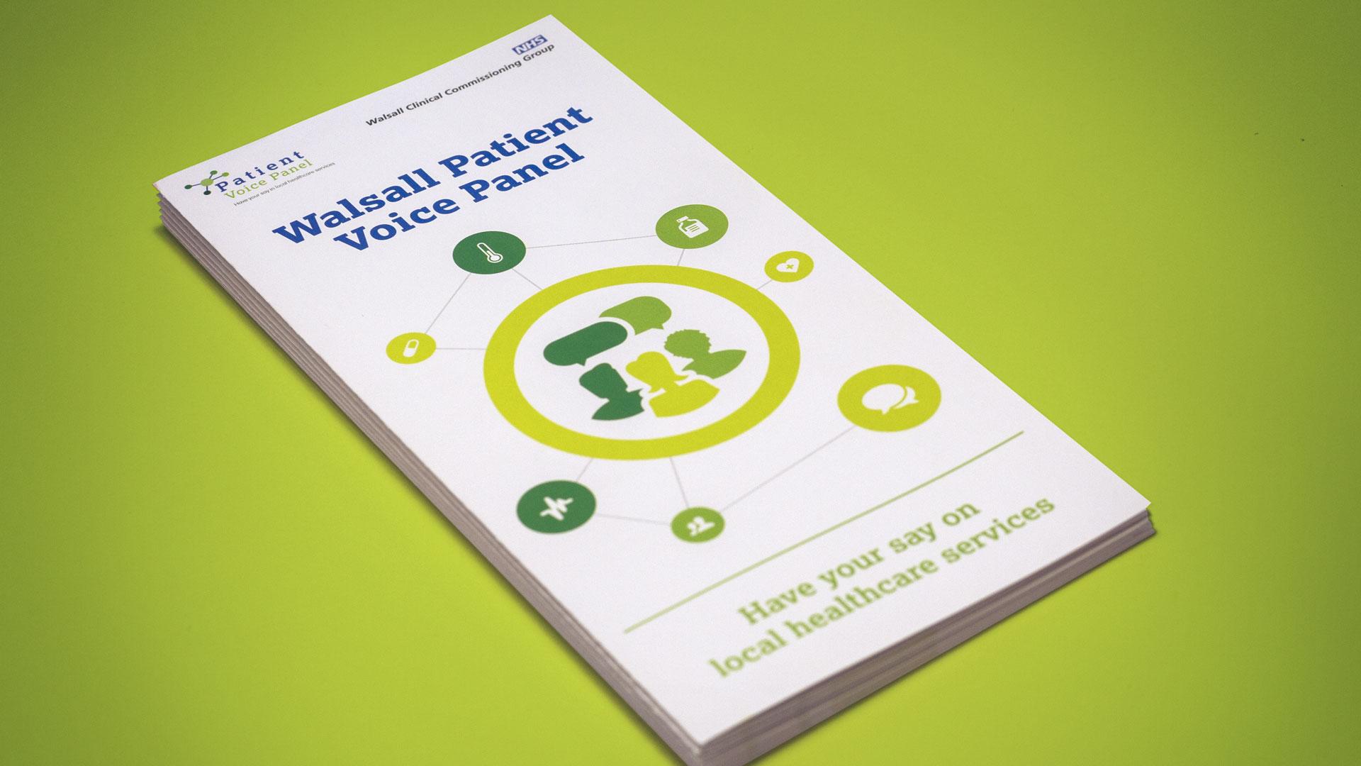 Patient Voice Leaflet Design