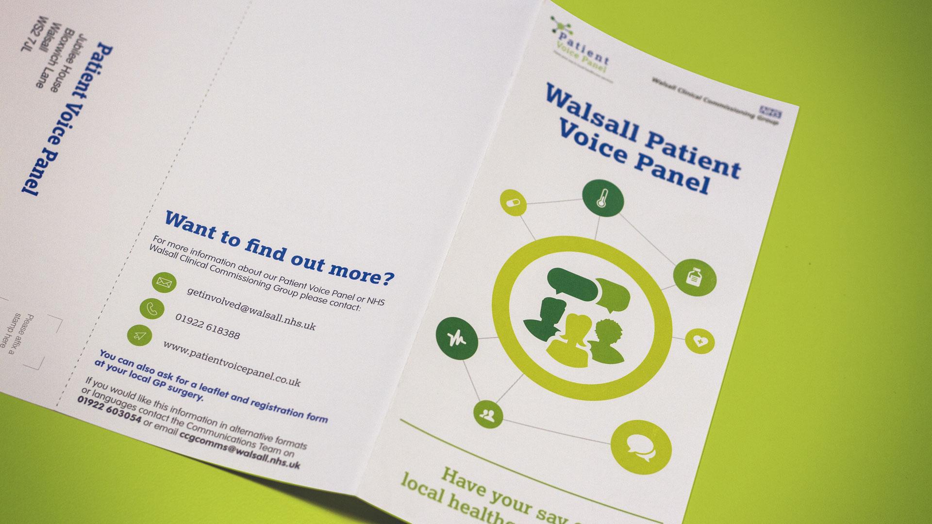 Patient Voice Panel Leaflet