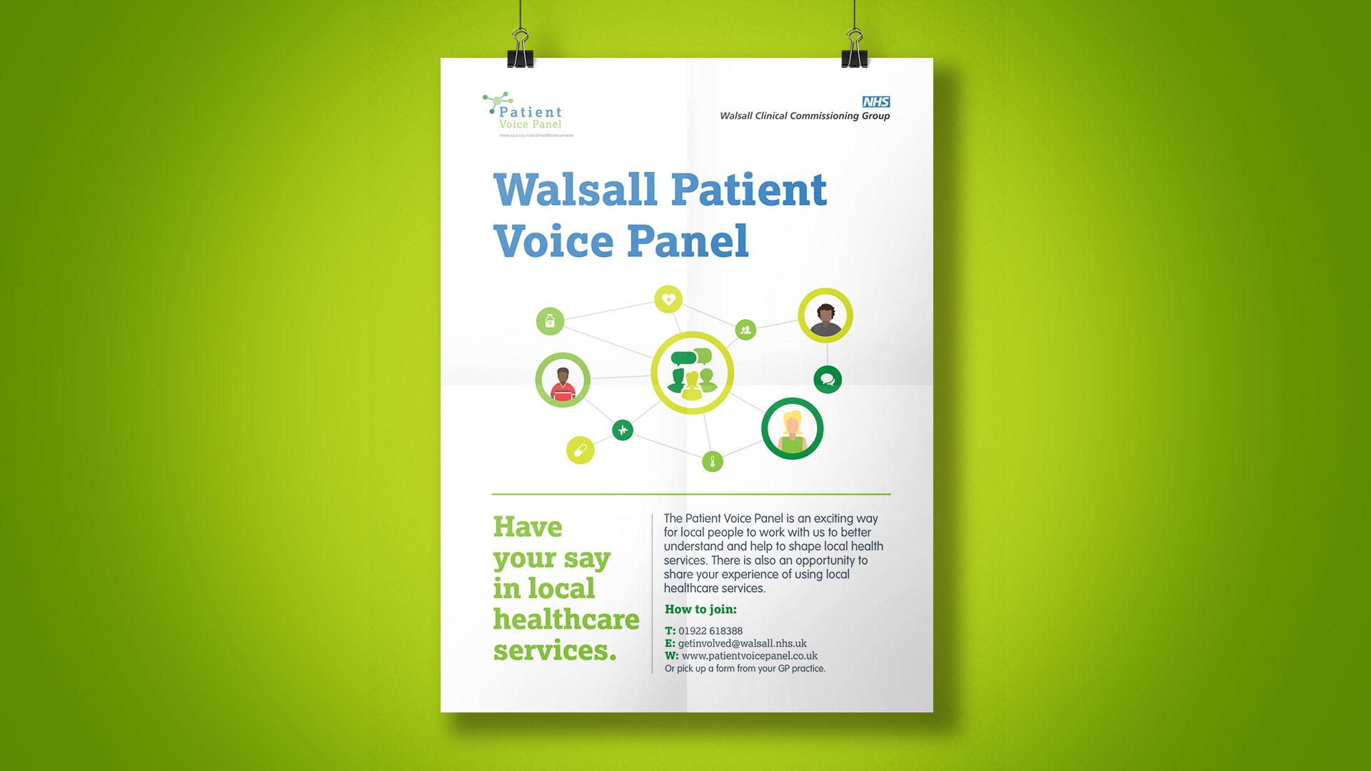 Patient Voice Panel Poster