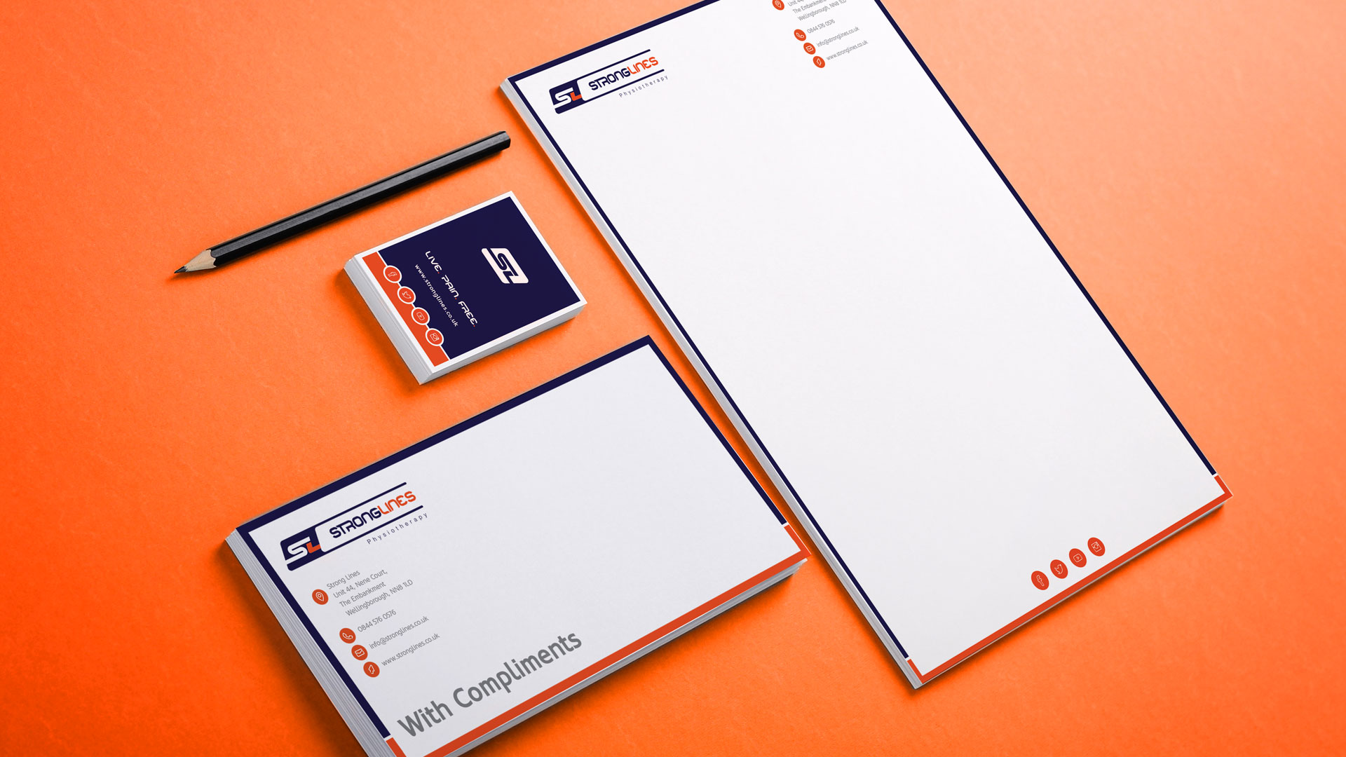 Stronglines Stationary Design