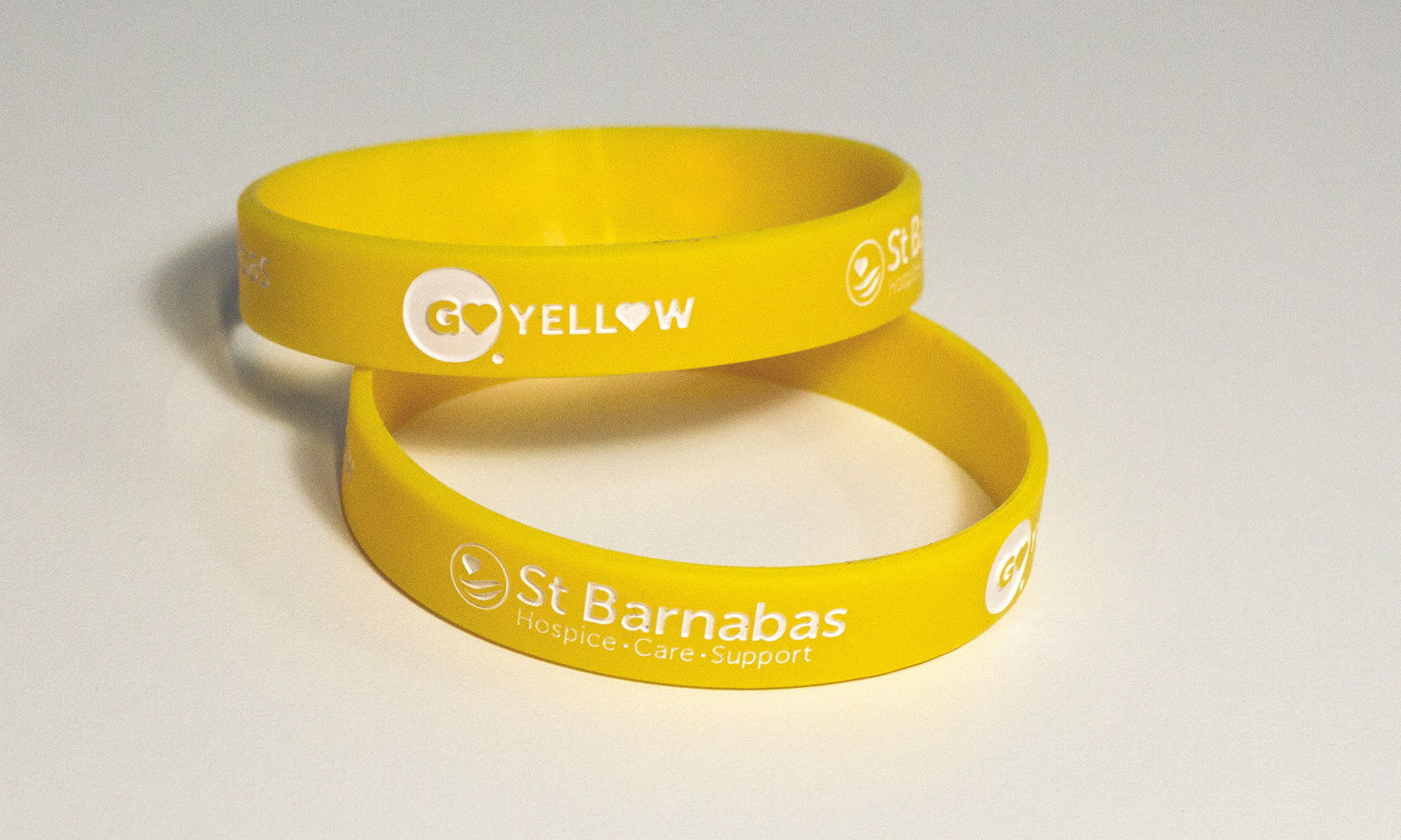 go yellow wristband