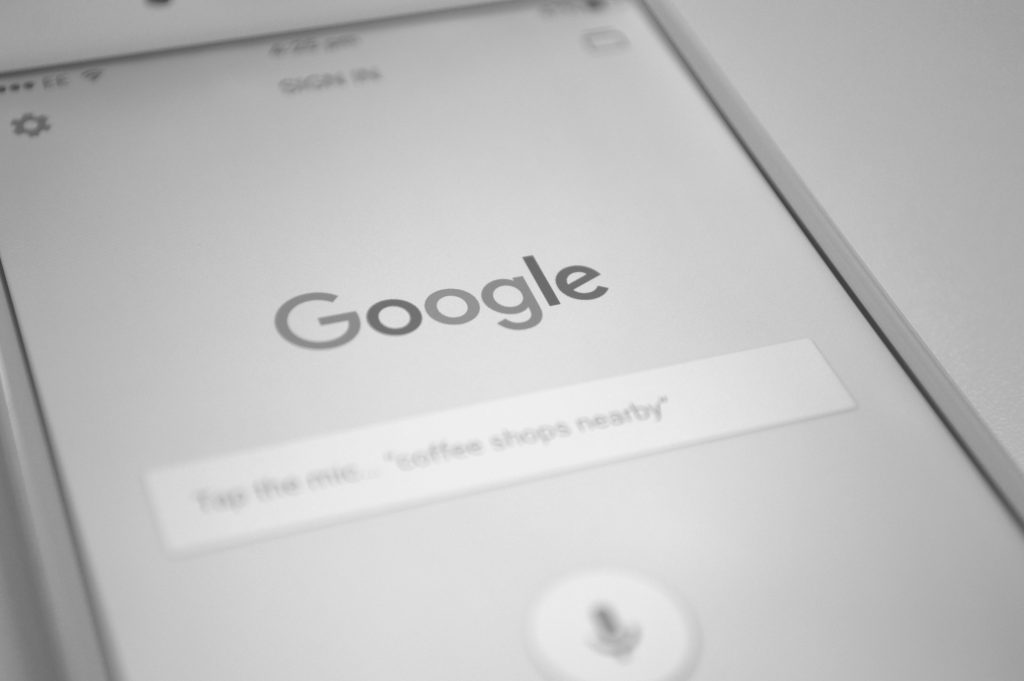 An image showing the Google app on an iPhone which is shifting to a mobile-first index