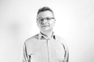 An image of Bluestep staff member Janos Geczi