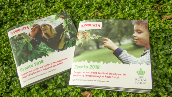 Two Royal Parks Booklets 2018