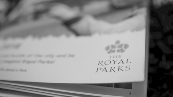 Royal Parks Booklet Close Up